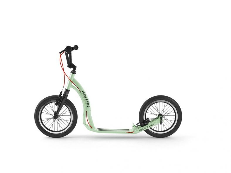 Yedoo Frida & Fred kids scooter with big wheels and brakes