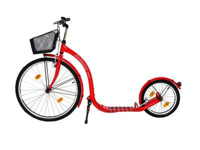 Urban Kickbike City G4 in red colour