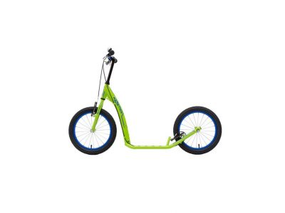 Kids Footbike Kostka street fun with two brakes and big tyres